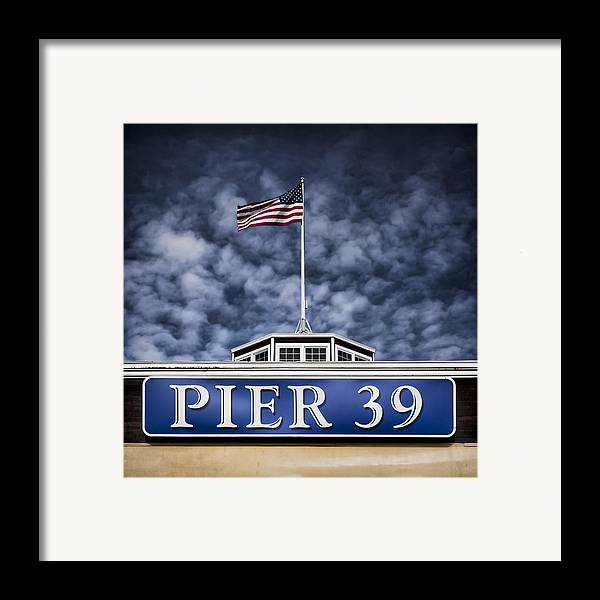 Pier 39 Framed Print featuring the photograph Pier 39 by Dave Bowman