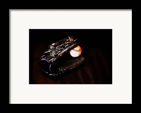 Baseball Framed Print featuring the photograph Play Ball Fine Art Photo by Jon Van Gilder