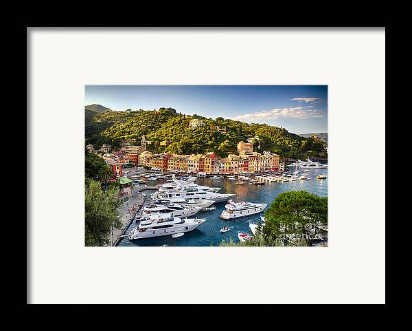 Europe Framed Print featuring the photograph Portofino Summer Afternoon by George Oze