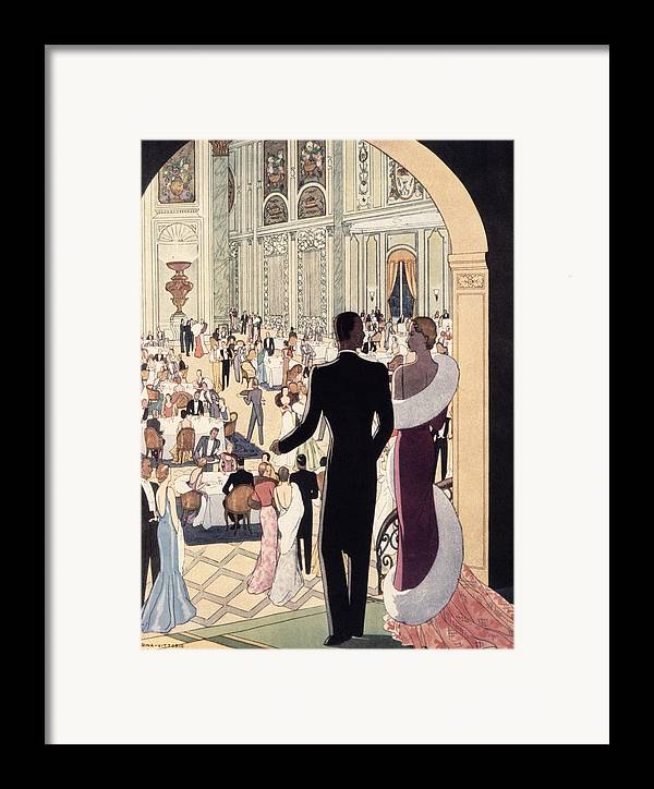 30s Framed Print featuring the painting Poster Advertising The Rex by Italian School