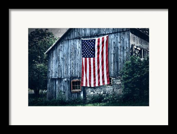Barn Framed Print featuring the photograph Pride by Thomas Schoeller