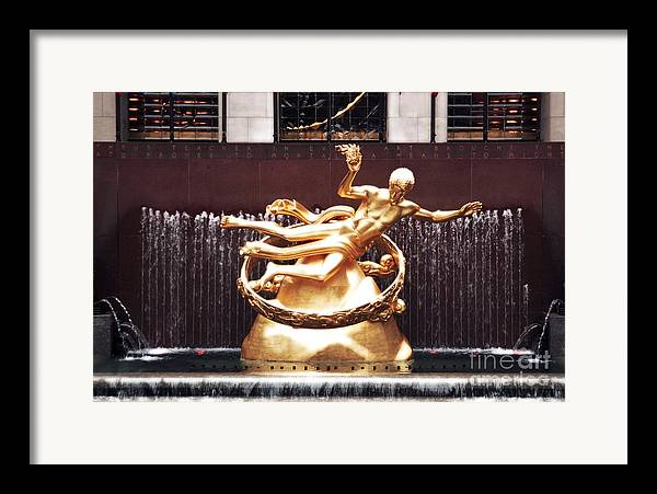 Prometheus Unbound Framed Print featuring the photograph Prometheus Unbound by John Rizzuto