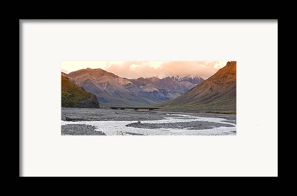 Alaska Framed Print featuring the photograph Savage River by Jim Cook