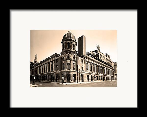 Shibe Park Framed Print featuring the photograph Shibe Park by Bill Cannon