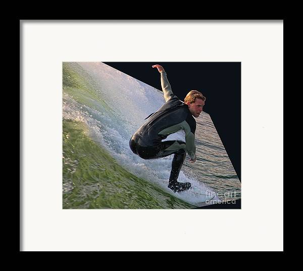 Smooth Ride Framed Print featuring the photograph Smooth Ride by Mariola Bitner