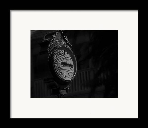 B&w Framed Print featuring the photograph Somewhere Someone Is Thinking Of You by Mario Celzner