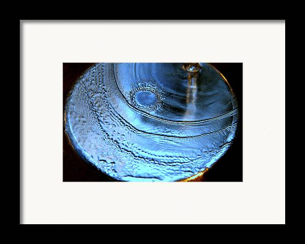 Water Photography Framed Print featuring the photograph Splash by Kathy Peltomaa Lewis