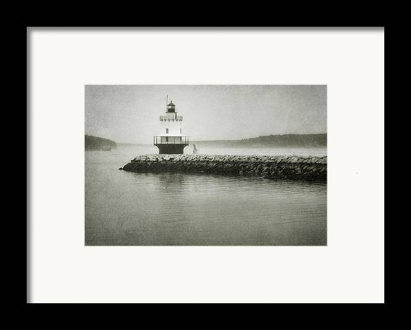 Bay Framed Print featuring the photograph Spring Point Ledge Light by Joan Carroll