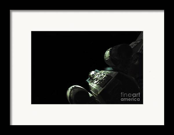 X-wing Framed Print featuring the photograph Star Wars X-wing by Micah May