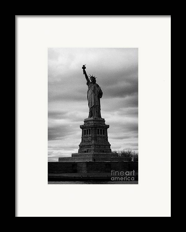 Usa Framed Print featuring the photograph Statue Of Liberty New York City by Joe Fox