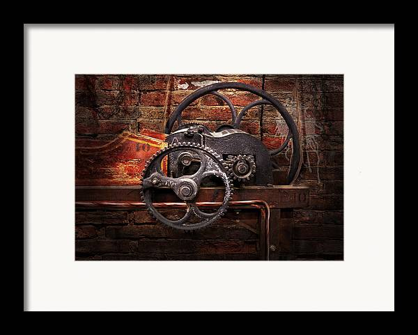 Hdr Framed Print featuring the digital art Steampunk - No 10 by Mike Savad