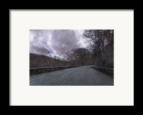 Blue Framed Print featuring the photograph Stormy Blue Ridge Parkway by Betsy C Knapp