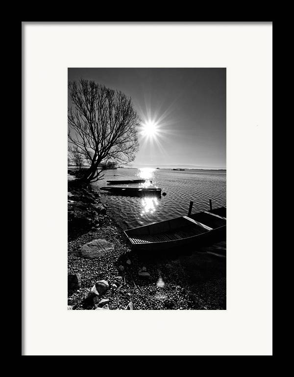 Landscape Framed Print featuring the photograph Sunny Day by Davorin Mance