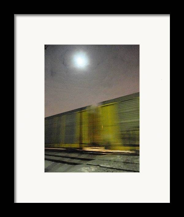 Guy Ricketts Photography Framed Print featuring the photograph Take A Fast Train by Guy Ricketts