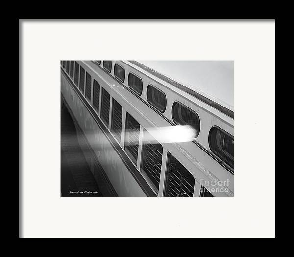 San Francisco Bus Tours Framed Print featuring the photograph Taking The Bus In San Francisco by Artist and Photographer Laura Wrede
