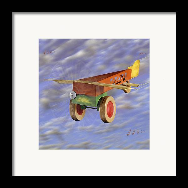 Toy Planes Framed Print featuring the photograph The 356th Toy Plane Squadron 2 by Mike McGlothlen