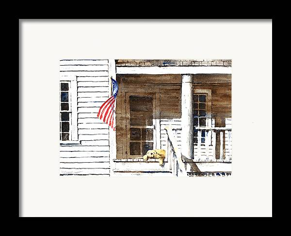 4th Of July Framed Print featuring the painting The 5th Of July by William Beaupre