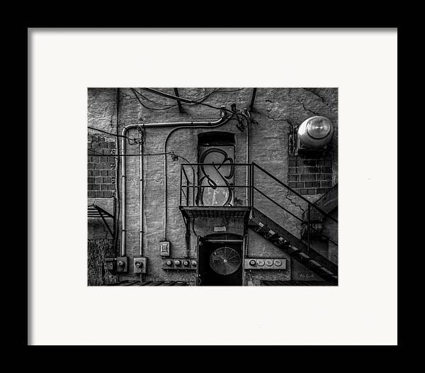 Abstract Framed Print featuring the photograph The City Is A Poem by Bob Orsillo