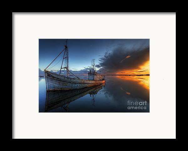 Guiding Light Framed Print featuring the photograph The Guiding Light by English Landscapes