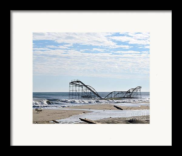 Landscape Framed Print featuring the photograph The Jetstar by Sami Martin