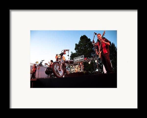 The Kingpins Framed Print featuring the photograph The Kingpins II by David Patterson