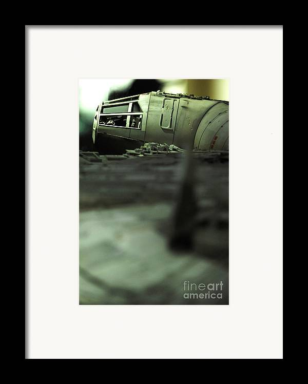 Fighter Framed Print featuring the photograph The Millennium Falcon by Micah May