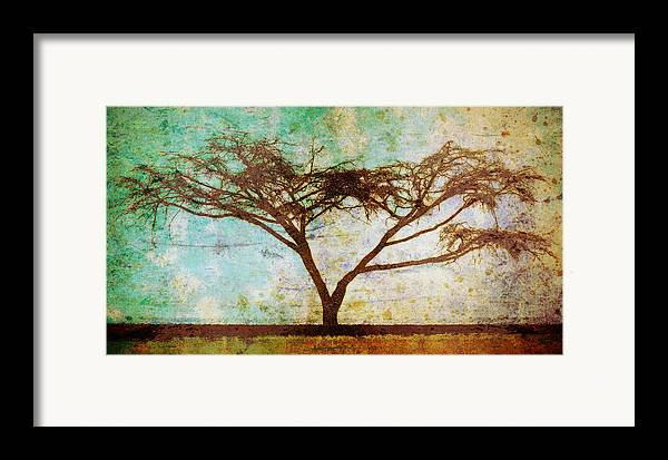 Brett Framed Print featuring the digital art Tonal Curve by Brett Pfister