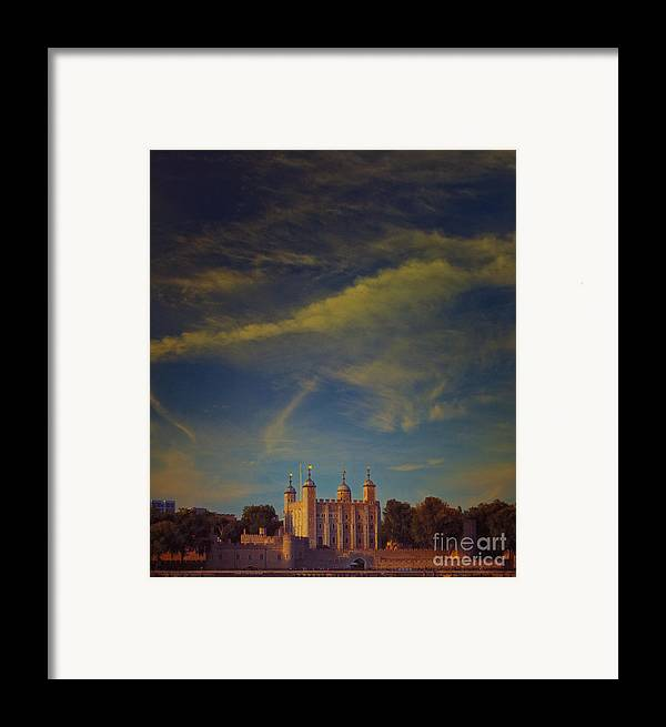Tower Of London Framed Print featuring the photograph Tower Of London by Paul Grand