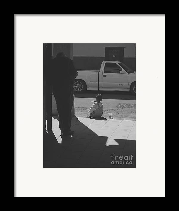 Two Feet Framed Print featuring the photograph Two Feet by Craig Pearson