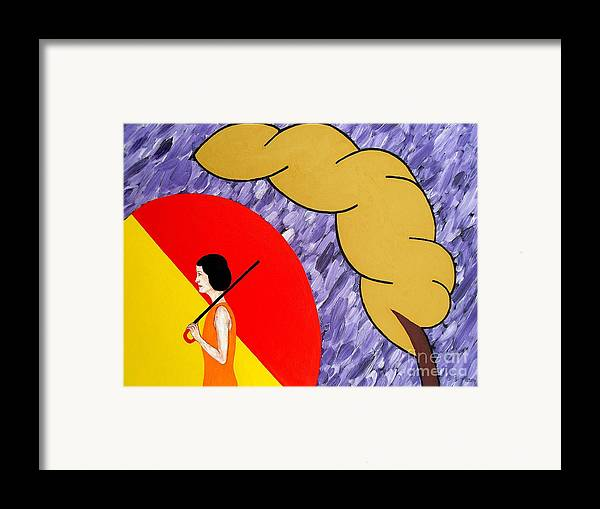 Love Framed Print featuring the painting Under The Shelter Of Your Love by Patrick J Murphy