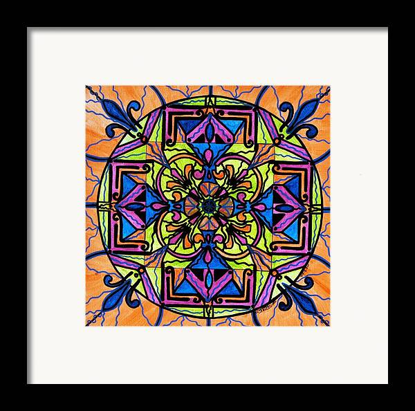 Uplift Framed Print featuring the painting Uplift by Teal Eye Print Store