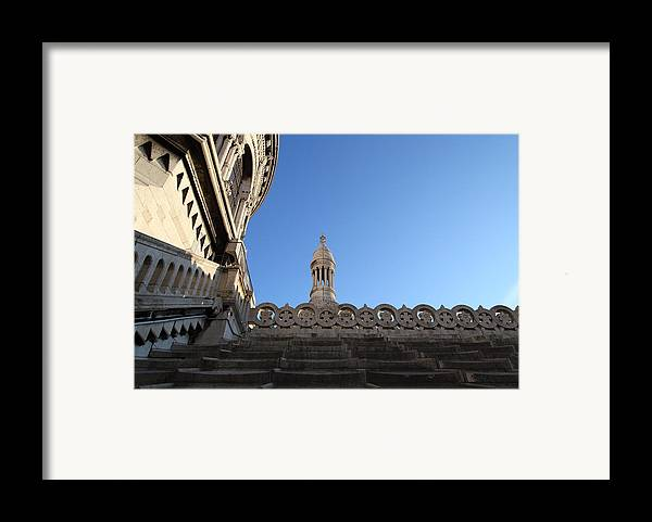 And Framed Print featuring the photograph View From Basilica Of The Sacred Heart Of Paris - Sacre Coeur - Paris France - 01134 by DC Photographer