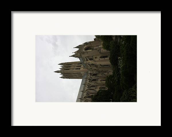 Alter Framed Print featuring the photograph Washington National Cathedral - Washington Dc - 011351 by DC Photographer
