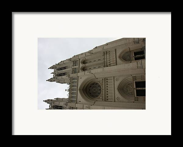 Alter Framed Print featuring the photograph Washington National Cathedral - Washington Dc - 011355 by DC Photographer