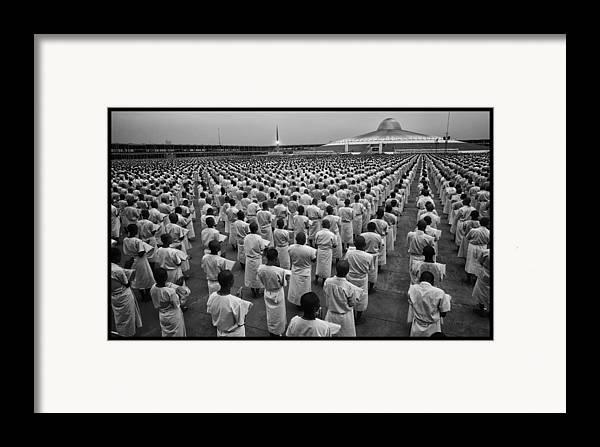 Thailand Framed Print featuring the photograph Wat Dhamma 1 by David Longstreath