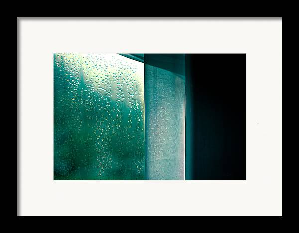 Abstract Framed Print featuring the photograph Wednesday In September by Bob Orsillo
