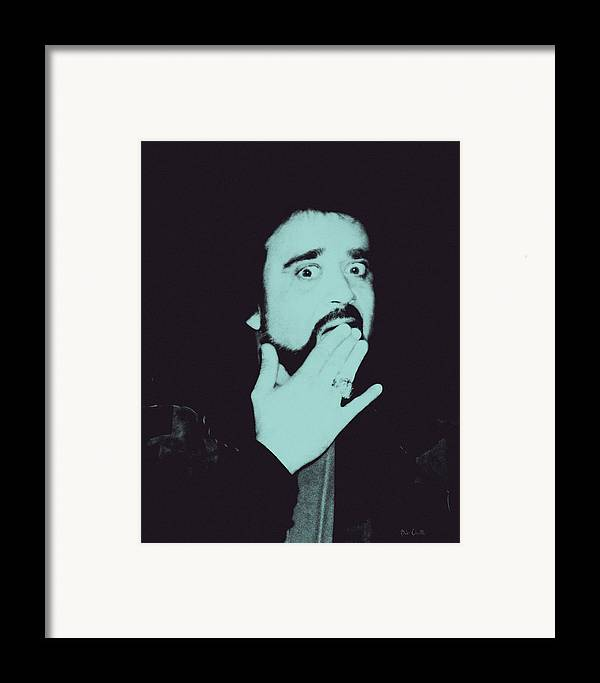 Wolfman Framed Print featuring the photograph Wolfman Jack by Bob Orsillo