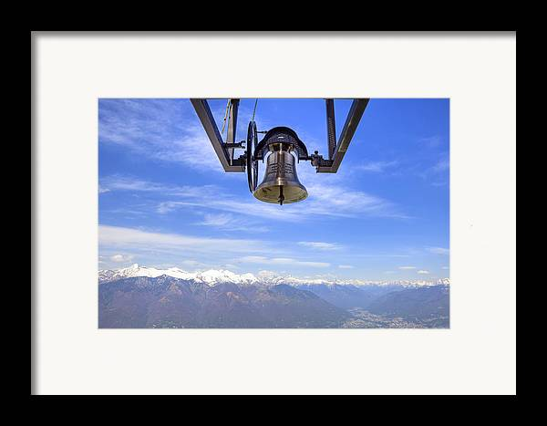 Bell Framed Print featuring the photograph Bell In Heaven by Joana Kruse