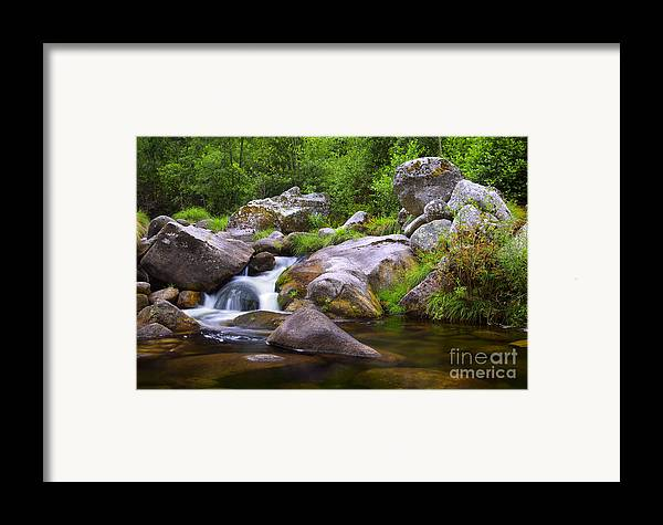 Autumn Framed Print featuring the photograph Creek by Carlos Caetano