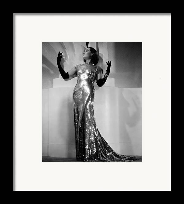 1930s Fashion Framed Print featuring the photograph International Settlement, Aka Shanghai by Everett