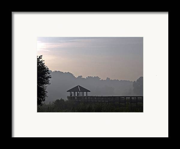 Fog Framed Print featuring the photograph Morning Fog by Farol Tomson