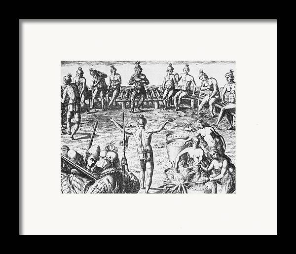 History Framed Print featuring the photograph Native Amercian Medicine by Science Source