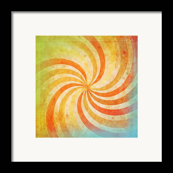 Abstract Framed Print featuring the photograph Old Grunge Paper by Setsiri Silapasuwanchai