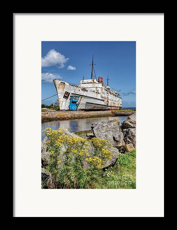 Abandoned Framed Print featuring the photograph The Duke by Adrian Evans