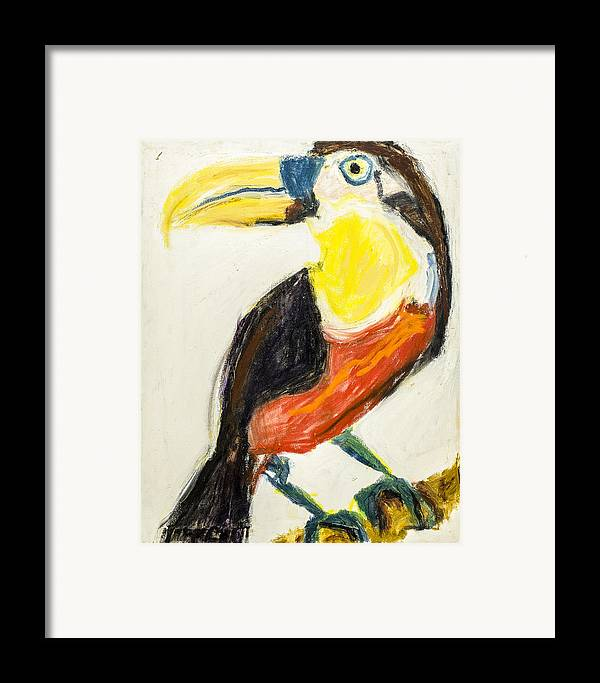 B13. Iris Gill Framed Print featuring the painting Untitled by Iris Gill