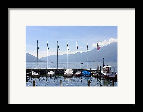 Alps Framed Print featuring the photograph Ascona - Ticino by Joana Kruse
