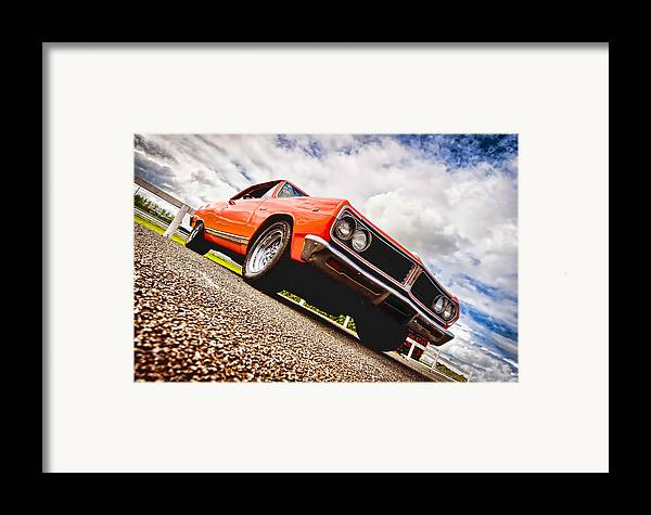 Chevrolet Acadian Framed Print featuring the photograph 65 Chevrolet Acadian by Phil 'motography' Clark