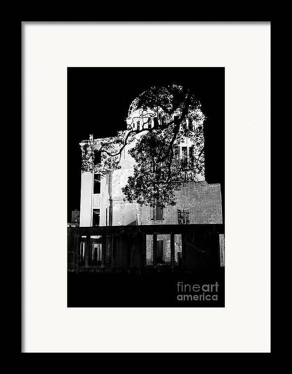 A-bomb Framed Print featuring the photograph A-bomb Dome by Dean Harte