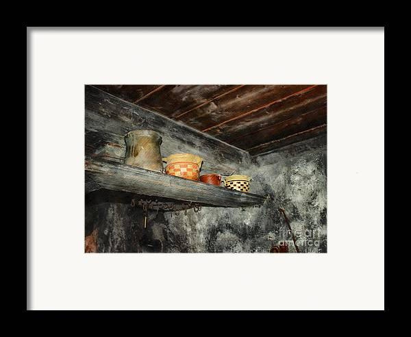 Photo Framed Print featuring the photograph Above The Stove by Jutta Maria Pusl