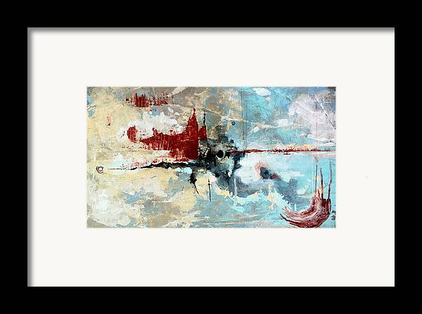 Painting Framed Print featuring the painting Absolution by Mark M Mellon